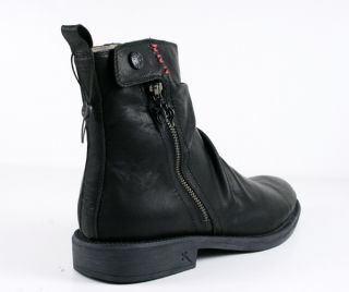 Lounge by Mark Nason Mens Larimer Boots Black Leather 71999