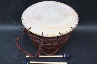 Drum Aztec Dance Music Prehispanic Latin Percussion Instrument