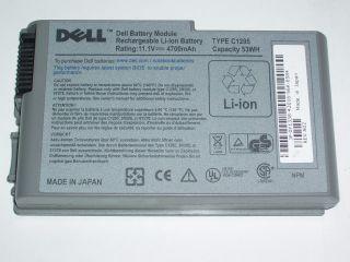 Laptop Battery Dell Latitude D500 D505 D600 D610 C1295