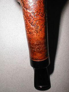 Larsen Blast Ring Grain Bent Brandy Egg Pipe UNSMOKED Coopersark N