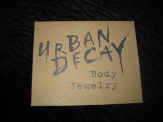 AWESOME VINTAGE Urban Decay Body Paint Kit (in metal flat can) & Body