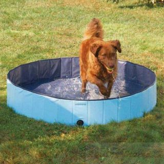 Guardian Gear Dog Pool, Extra Tough PVC Folds for Storage, 3 sizes