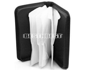 Disc CD DVD Wallet Holder Storage Case Cover Organizer Bag Box