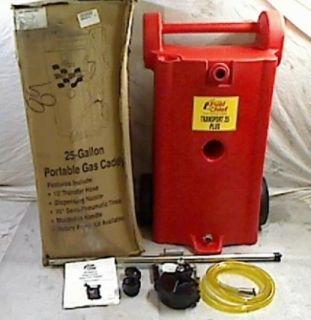 Dow Industries JDI 25GC P2 25 Gallon Fuel Chief Polyethylene Gas Caddy