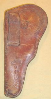 VINTAGE GEO LAWRENCE SEMI AUTOMATIC HOLSTER COLT WOODSMAN / HIGH