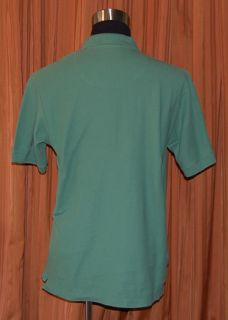 Robert Graham Short Sleeve Green Polo Shirt Mens Large