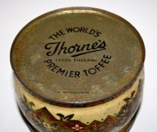 Vintage Thornes Nature Toffee Tin Sir Thomas Lawrence
