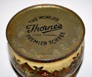 Vintage Thornes Nature Toffee Tin Sir Thomas Lawrence
