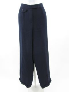 Lauren Ralph Lauren Navy Wool Dress Pants Petite Sz 10