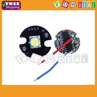 CREE XM L T5 10W White LED Light Emitter 800LM 3 7V w 16mm Base DC3 7V