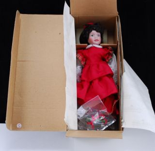 Windy Lawtons Little Women Dolls Christmas Dolls Ashton Drake