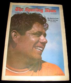 Golf 1972 Lee Trevino Man of The Year Cover Pictorial Feature Sporting