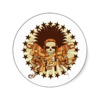 Skull Headdress 2 Sticker