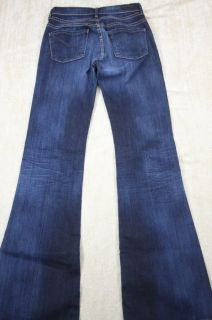 of Humanity Hutton Mid Rise Wide Leg Jeans 24 Stretch Denim