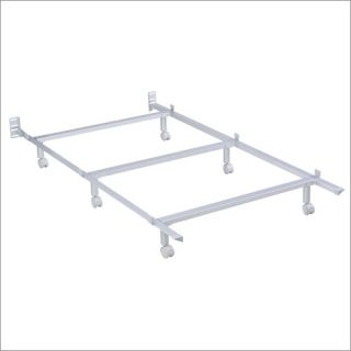 Leggett and Platt Edge Metal Bed Frame with Headboard Compatibility