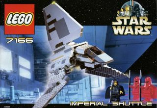 Lego 7166 Star Wars Imperial Shuttle SEALED Box Emperor Palpatine