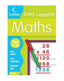 Collins Easy Learning Maths Age 9 10 Clarke Peter 0007301022