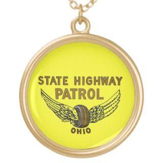 Ohio Sae Highway Parol Necklace.