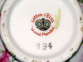 auction is for a Beautiful Vintage Lefton China Roses Creamer & Sugar