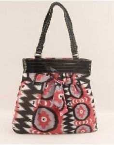 Victoria Leland Designs Jakarta Braided Handle Tote