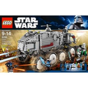 Lego Star Wars Clone Turbo Tank 8098 New in Box