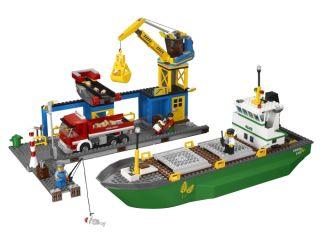 Lego® City® Harbor w Cargo SHIP Dump Truck 4645