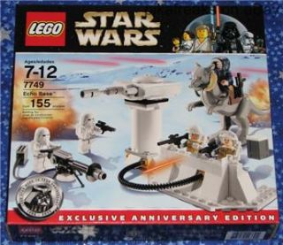 Echo Base Lego 7749 Star Wars Classic Play Set with 155 Pieces from