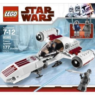 NEW Lego STAR WARS Set 8085 FREECO SPEEDER Anakin Thi Sen MiniFigs