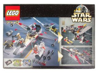 LEGO 7140   Star Wars   X wing Fighter   1999   MISB   NEW