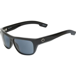 NEW Spy LENNOX Sunglasses   Black with Grey Lens + Chamois Bag and Spy