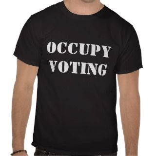 Occupy Wall Street T shirt