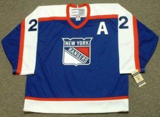 Brian Leetch New York Rangers 1978 Vintage Jersey XXL