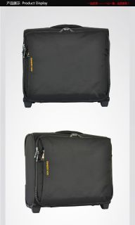 Wheeled Rolling Carry on suitcase luggage duffel Traveler Trolley Tote