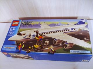 Lego 7893 Passenger Plane City Set Airplane Retired Box