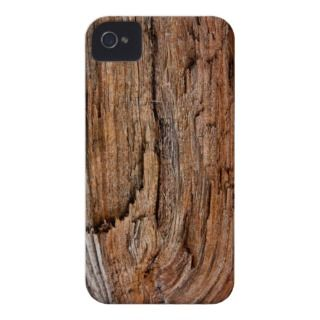 Rustic wood iPhone 4 case