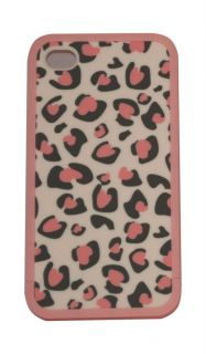 Genuine Ero Travel Street Skin Cover Case Pink Leopard for iPhone 4 4S
