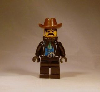 Lego Western Minifig   Wild West Bandit 1 Minifigure   6765 Gold City