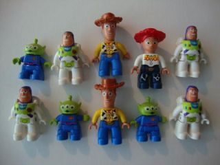 Lego Duplo Toy Story People Jessie Buzz Alien Woody More