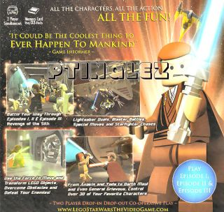 Lego Star Wars The Video Game GameCube Wii