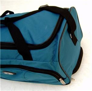 Polyester Leisure 20 Wheeled Duffle Travel Bag Carry Luggage