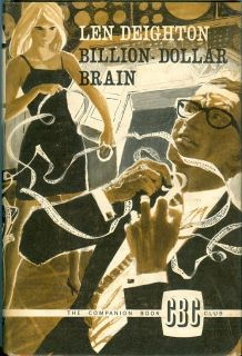 Billion Dollar Brain by Len Deighton, 1966 British hardcover CBC