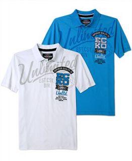 Ecko Unltd Shirt, Script Numeric Block Polo