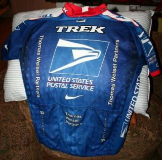 CYCLING JERSEY NIKE AUTHENTIC MADE IN ITALY LARGE LANCE ARMSTRONG