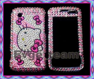Hello Kitty Bling Case Cover LG Chocolate Touch 8575 SH
