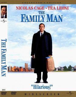 The Family Man Nicolas Cage, Téa Leoni (DVD, 2001, Collectors Ed
