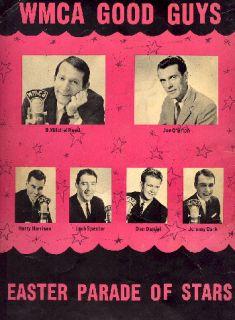 James Brown Sam Cooke 1964 Wmca Good Guys Tour Concert Program Book