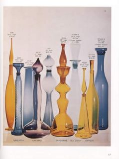 Blenko Glass 1962 1971 Catalogs With Price Guide by: Leslie Pina