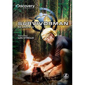 Survivorman Season 3 Discovery New 2 DVD Set