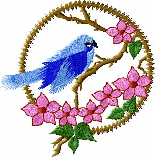 ABC Designs Bird Life Machine Embroidery Designs Set 4x4 Hoop