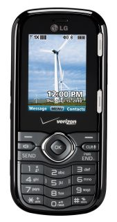 Verizon LG Cosmo Black Messaging Cell Phone LG VN250 Full Slide Out